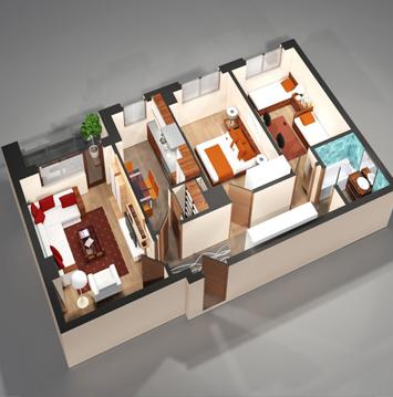 Apartamente 3 camere Copou